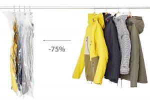 Vakuumbeutel mit Kleiderhaken