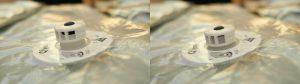 Packmate ® Vakuumbeutel Ventil geöffnet & geschlossen