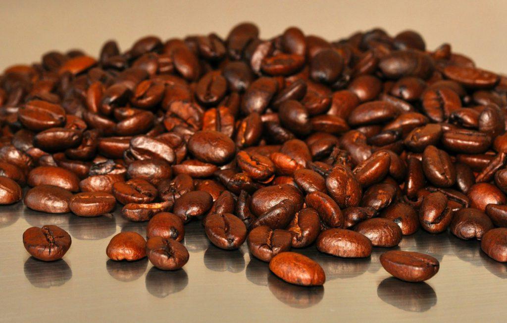 Kaffee Bohnen geröstet